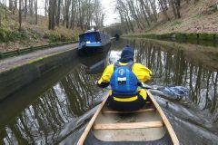 Llangollen canal March 2018